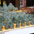 Jade figurines Buddhas — Stock Photo #36436341