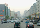 Yangtze CHINA 14 OKT .2013 the street scene — Stock Photo