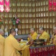 SHANGHAI - NOV. 18.2013: Buddhist monks — Stock Photo #37259091
