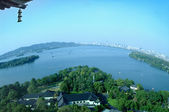 Chinese park in Hangzhou near Xihu Lake, China. — Foto de Stock