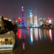 Stock Photo: Night shanghai,