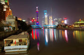 Night shanghai, — Stock Photo