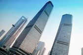 SHANGHAI view of skyscrapers Pudong — Stock Photo