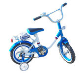 Kids bicycle — Stock Photo