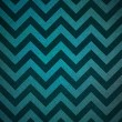 Blue black chevron stripe zigzag pattern background retro layout design — Stock Photo