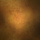 Gold brown background texture with black vignette frame warm color and vintage grunge background texture — Stock Photo