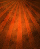 Orange retro starburst or sunburst pattern background abstract grunge texture — Stock Photo