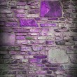Abstract purple block stone wall background with dark edges and white center, classy light purple background for website or brochure, elegant luxury style background for ad or poster design layout — Stock Photo #22479933