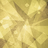 Pastel yellow gold background abstract triangle geometric shape design — Stock Photo