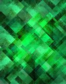 Abstract green background geometric diamond shape pattern with sparkly glitter style — Stock Photo