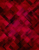 Red abstract background diamond shape pattern grunge texture — Stock Photo