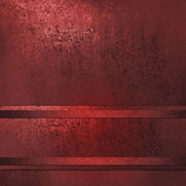 Fondo rojo con cuadro de texto de raya cinta para Navidad o San Valentín imagen o scrapbook cartel folleto — Foto de Stock