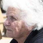 Sad old woman portrait — Stock Photo #3008824