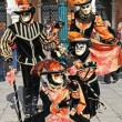 Masked persons in Venice — Stock Photo #7251461