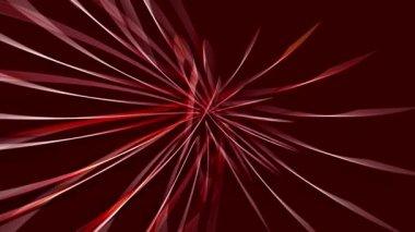 Lighting strips - red — Stock Video