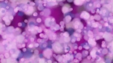 Background Animation - Bokeh - purple — Stock Video
