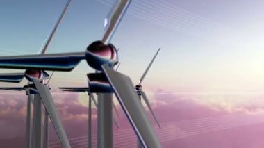 Wind Generators — Stock Video