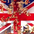 Currency - pound - Flag — Stock Video #19112605