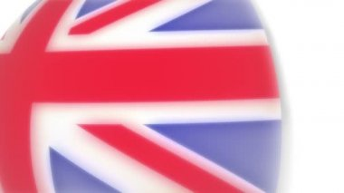 Flaga - anglia — Wideo stockowe