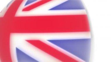 Vlajka - anglie — Stock video