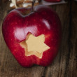 Red apple — Stock Photo #37599449