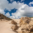 Sanddunes of Bolonia — Stock Photo