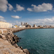 Waterfront of Cadiz — Stock Photo