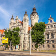 New Townhall, City of Leipzig — Stock Photo