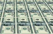 Dollars background — Stock Vector
