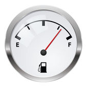 Ukazatel paliva — Stock fotografie