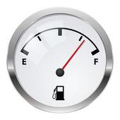 燃料指标 — 图库照片