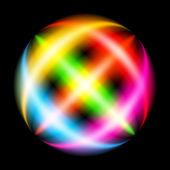 Abstract Rainbow Ray — Stock Vector