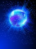 Mirror disco ball vector — Stock Vector