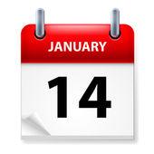 Kalender — Stockvector