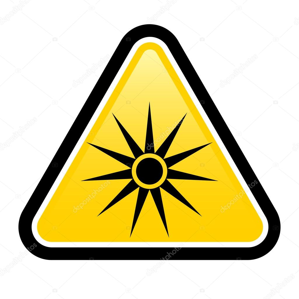 Safety signs warning triangle sign vector pictogram BGV A8 ...
