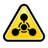 Chemical Weapon sign — Stock Vector