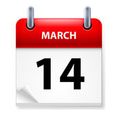 Calendario — Vector de stock