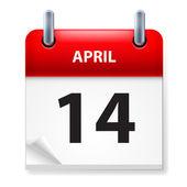 Calendar — Vettoriale Stock