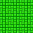 Green square abstract background - Stock Vector