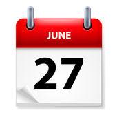 Kalendarza — Zdjęcie stockowe