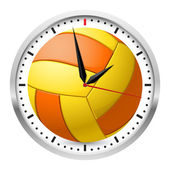 Sports Wall Clock — Stock Vector
