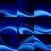 Blue waves — Stock Vector