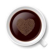 Mok van koffie — Stockvector
