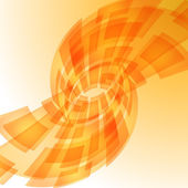 Rozmazané světla oranžová digitální — Stock vektor
