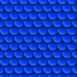 Abstract background with roof tile pattern in dark blue color. — Stock vektor