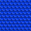 Abstract background with roof tile pattern in dark blue color. — Stockvectorbeeld