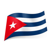 State flag of Cuba. — Stock Vector