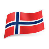 State flag of Norway. — Stock Vector