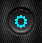 Settings button. — Stock Vector