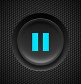Pause button. — Stock Vector